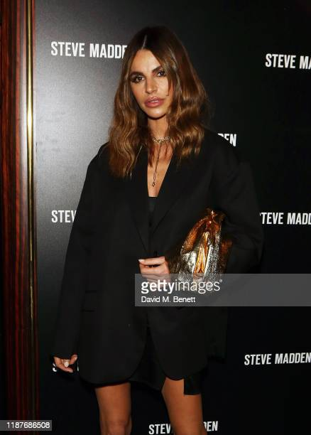Misse Beqiri attends a cocktail party to celebrate Steve Madden's debut London store at Isabel on November 14 2019 in London England
