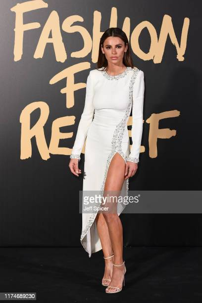 Misse Beqiri attends Fashion For Relief London 2019 at The British Museum on September 14 2019 in London England