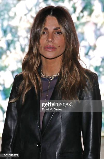 Misse Beqiri attends the International Woolmark Prize 19/20 Final during London Fashion Week February 2020 at Ambika P3 on February 17 2020 in London...