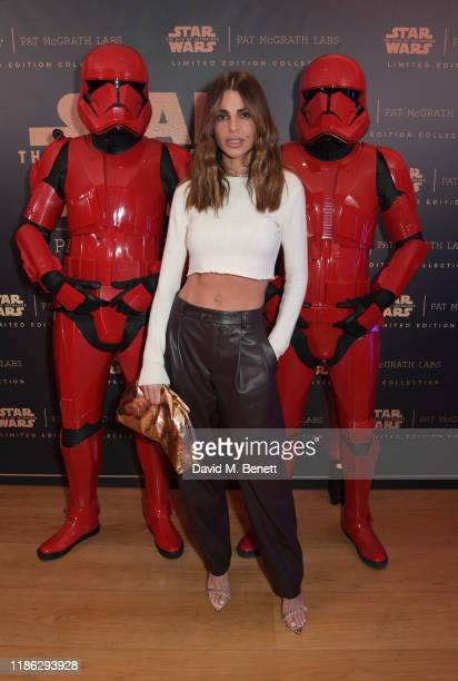 Misse Beqiri attends the launch of the 'Star Wars The Rise Of Skywalker Collection' with Pat McGrath Labs and Disney in the Penthouse Suite at The...