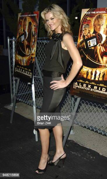 Missi Pyle arrives to the New York Premiere of Alex Rider Operation Stormbreaker held at The Intrepid Sea Air Space Museum New York City BRIAN ZAK