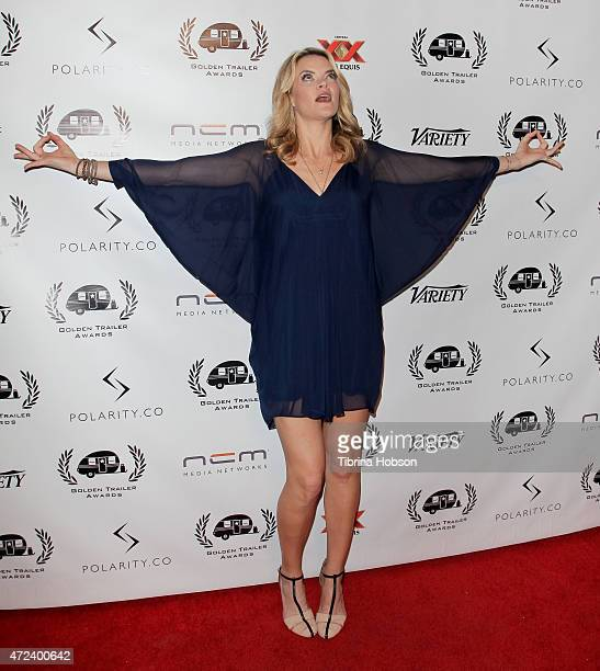 Missi Pyle attends the 16th annual Golden Trailer Awards at Saban Theatre on May 6 2015 in Beverly Hills California