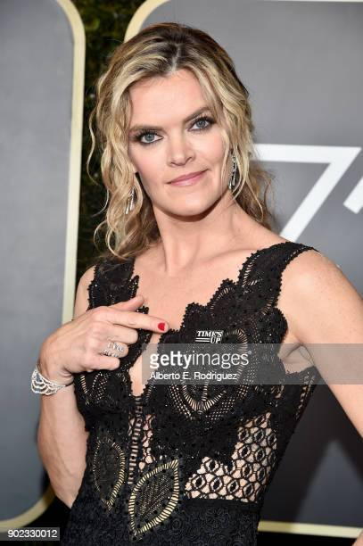 Missi Pyle attends The 75th Annual Golden Globe Awards at The Beverly Hilton Hotel on January 7 2018 in Beverly Hills California