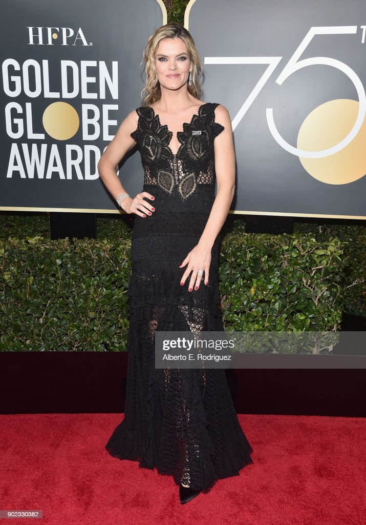 Missi Pyle attends The 75th Annual Golden Globe Awards at The Beverly Hilton Hotel on January 7, 2018 in Beverly Hills, California.