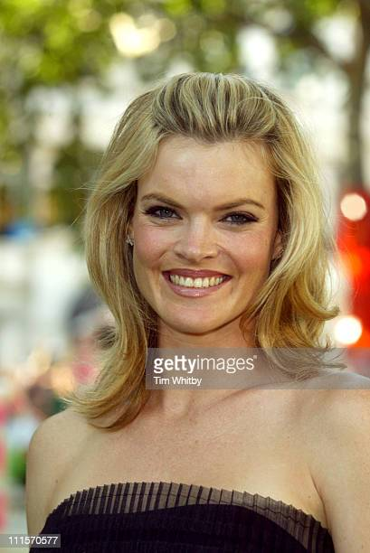 Missi Pyle during Charlie and the Chocolate Factory London Premiere Inside Arrivals at Odeon Leicester Square in London Great Britain