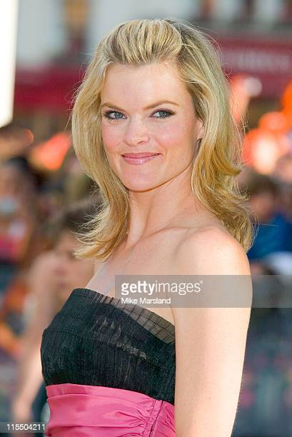 Missi Pyle during Charlie and the Chocolate Factory London Premiere Arrivals at Odeon Leicester Square in London Great Britain