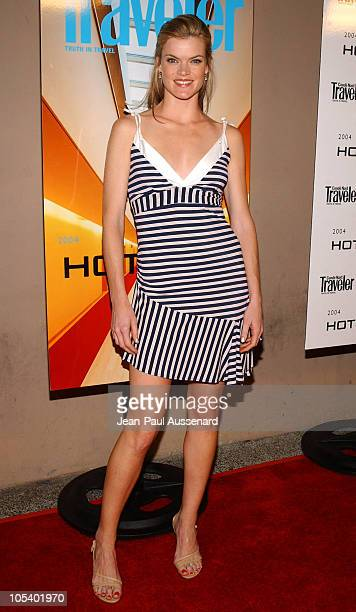 Missi Pyle during Conde Nast Traveler Hot Nights Los Angeles Arrivals at Spider Club in Hollywood California United States