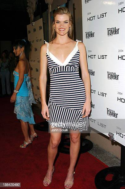 Missi Pyle during Conde Nast Traveler Hot Nights Los Angeles Red Carpet at Spider Club in Hollywood California United States