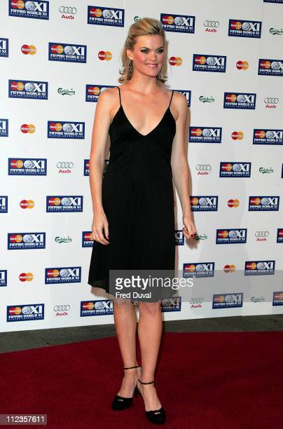 Missi Pyle during FIFPRO World XI Player Awards at Wembley Conference Centre in London Great Britain