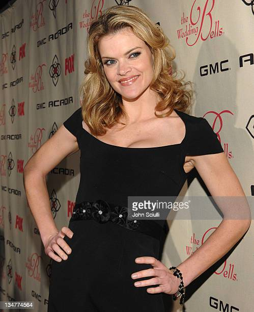 Missi Pyle during GMC the Official Sponsor of FOX's 'The Wedding Bells' Premiere Party at Wilshire Ebel Theatre in Los Angeles California United...