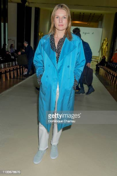 Missia Piccoli attends the Agnes B show as part of the Paris Fashion Week Womenswear Fall/Winter 2019/2020 on March 04 2019 in Paris France