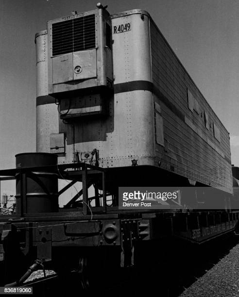 Missiles * US * Minuteman The US Air Force Minuteman test train stopped briefly Thursday noon at the North Denver yards of the Rio Grande Railroad It...
