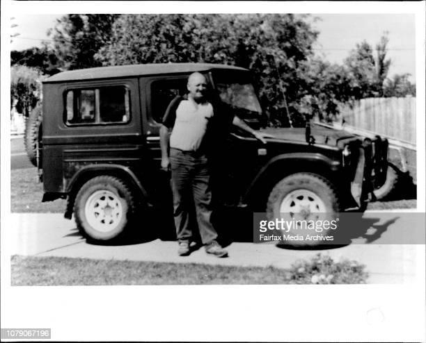 Missing Nowra Alderman Gordon Ravell and his 1977 Daihatsu 4WD December 14 1986