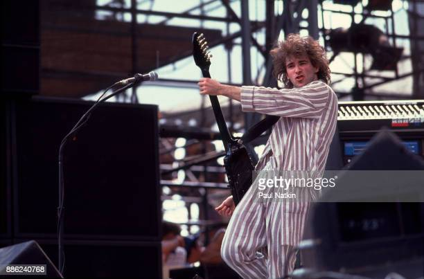 Missing Persons performing at the US Festival in Ontario California May 29 1983