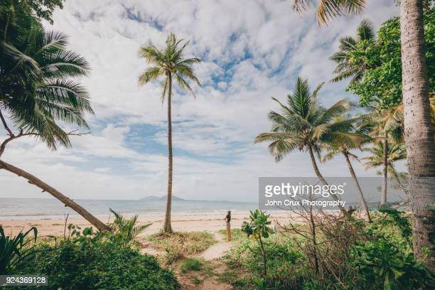mission beach - cairns stock pictures, royalty-free photos & images