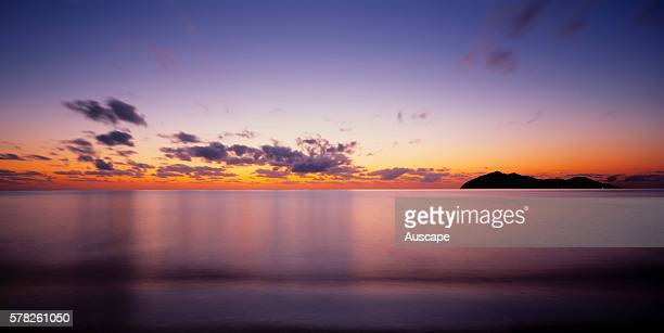 Mission Beach seascape at dawn North Queensland Australia
