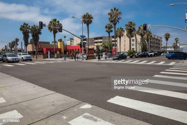 Mission Boulevard in San Diego