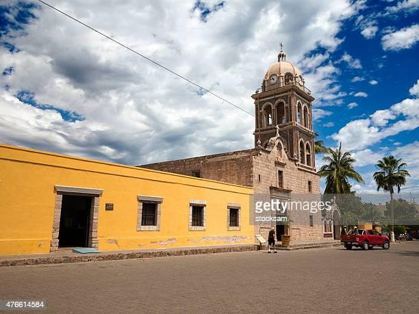 Mission church, Loreto, Mexico