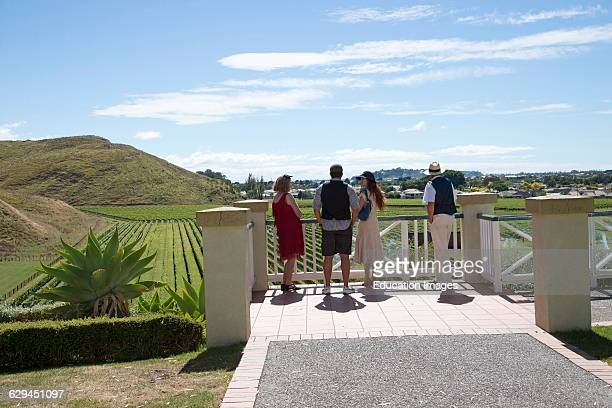 Mission Estate Winery at Taradale Hawkes Bay region North Island New Zealand