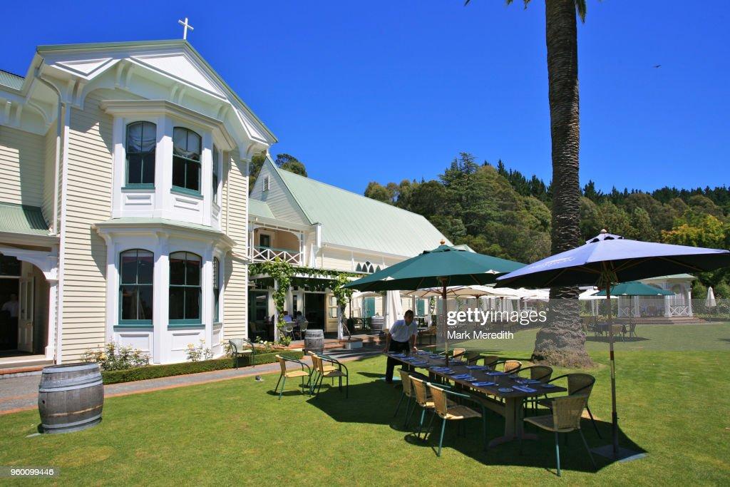Mission Estate winery near Napier, Hawkes Bay : Stock-Foto