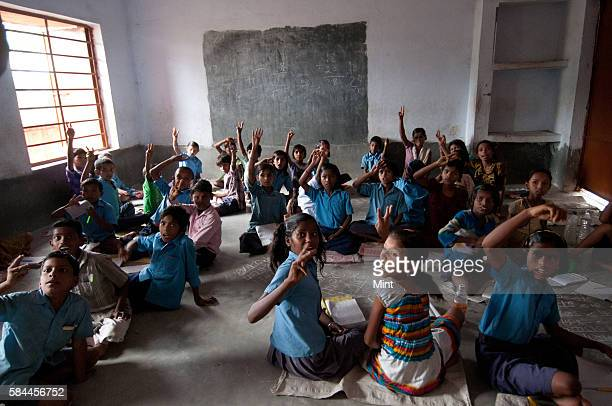 Mission Gunwatta in 2014 School children learning in school through the playful and interactive ways of teaching in Gaya Jehanabad and Belaganj on...