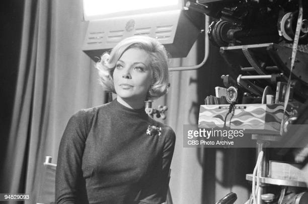Impossible cast member Barbara Bain as Cinnamon Carter in episode �The Widow� July 6 1967