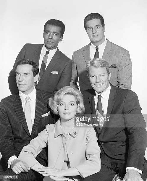 Impossible cast shot featuring clockwise from top left Greg Morris as Barney Collier Peter Lupus as Willy Armitage Peter Graves as James Phelps...