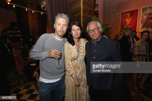Mission Magazine Founder and Editor in Chief Karina Givargisoff and guests celebrate the launch of Mission Magazine with Belvedere Vodka at Rose Bar...