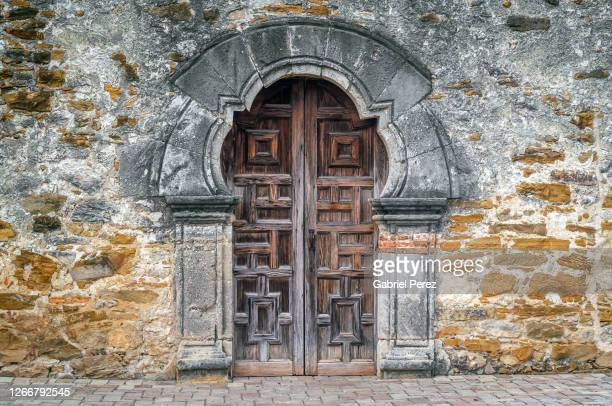mission san francisco de la espada from san antonio, texas - southwest stock pictures, royalty-free photos & images