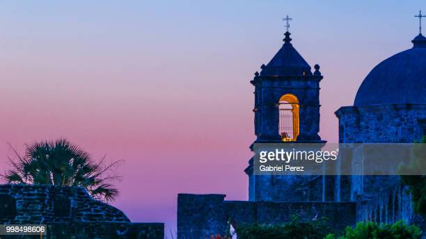 mission san jose of san antonio, texas - san antonio texas stock photos and pictures