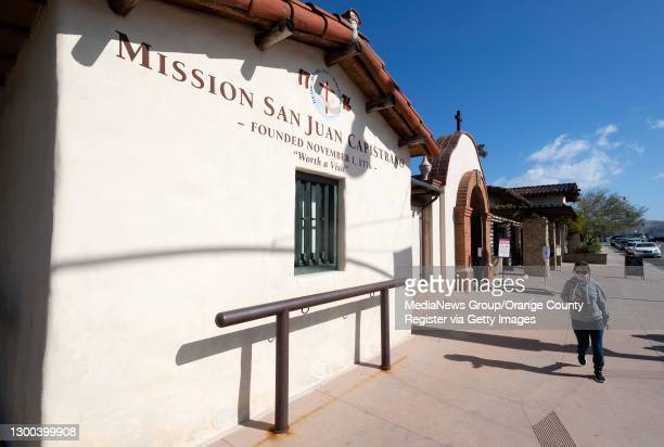 Mission San Juan Capistrano reopened in San Juan Capistrano, CA on Thursday, February 4, 2021. The mission reopened after California Governor Gavin...