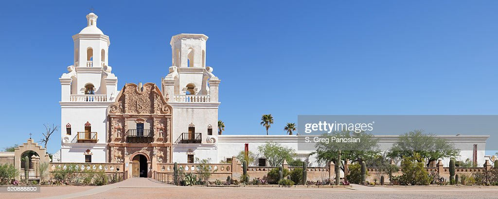 Mission San Xavier Del Bac - Tucson : Stock Photo