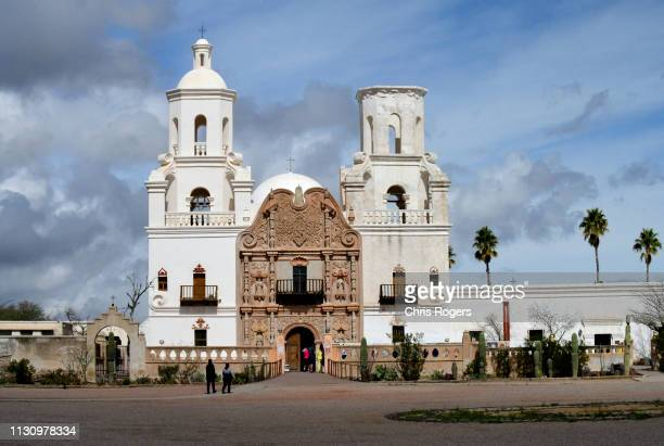 mission san xavier, tucson - faith rogers stock pictures, royalty-free photos & images
