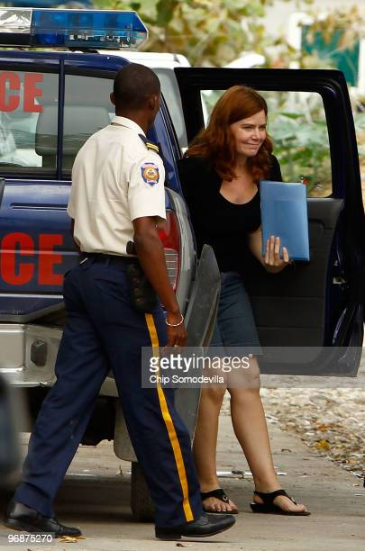 Missionary Laura Silsby returns to jail after she and her livein nanny Charisa Coulter went to court February 19 2010 in PortauPrince Haiti The Idaho...