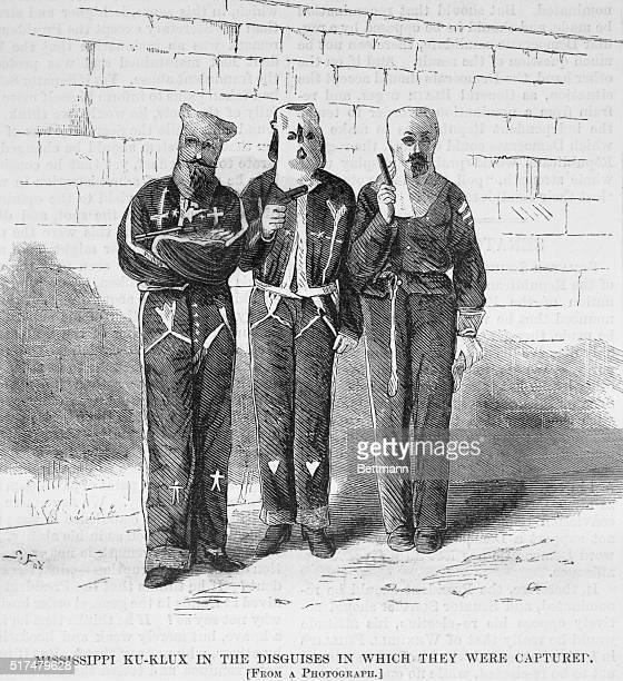 Mississippi Ku Klux in the disguises in which they were captured