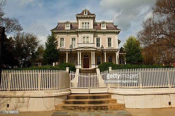 Mississippi Natchez Glen Auburn example of French second empire architecture located in downtown 1875