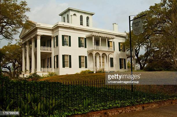 Mississippi Natchez Stanton Hall built for cotton magnate Frederick Stanton spared no expense in five level house 1857