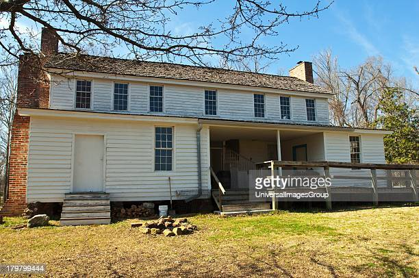 Mississippi Natchez Trace Parkway French Camp Antebellum Drane Home rear
