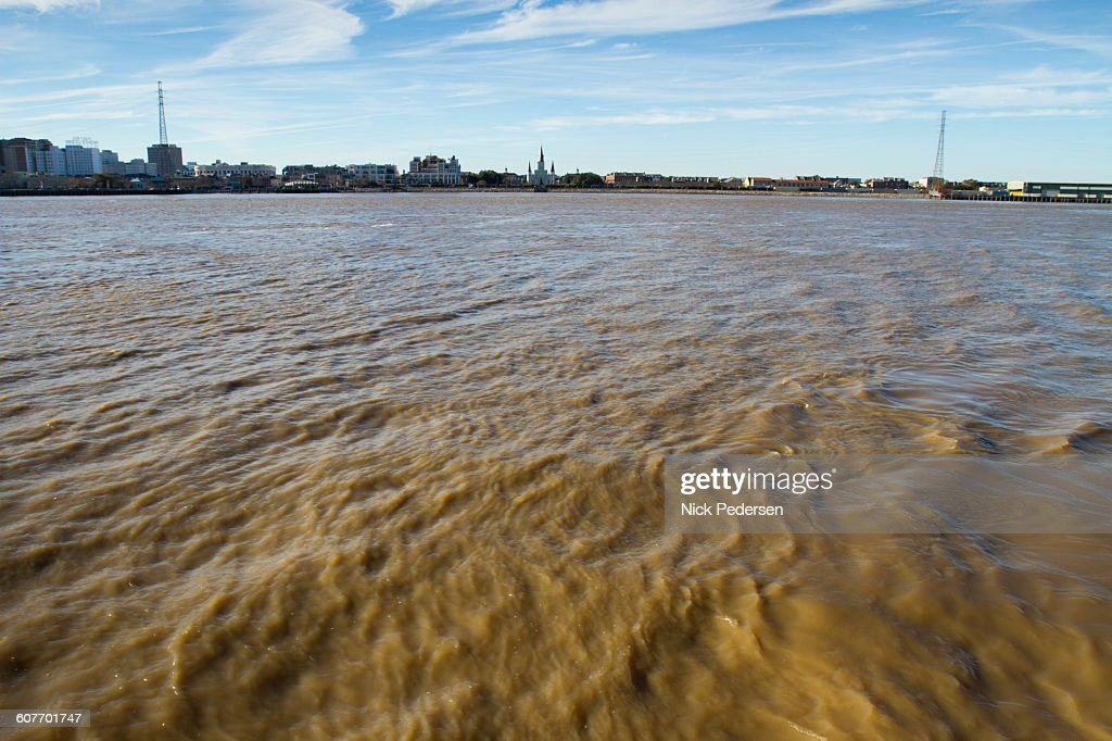 Mississippi River in New Orleans : Stock Photo
