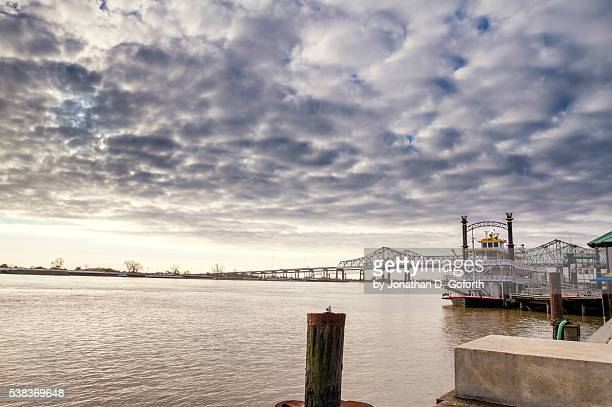 mississippi river in nola - gulf coast states stock pictures, royalty-free photos & images