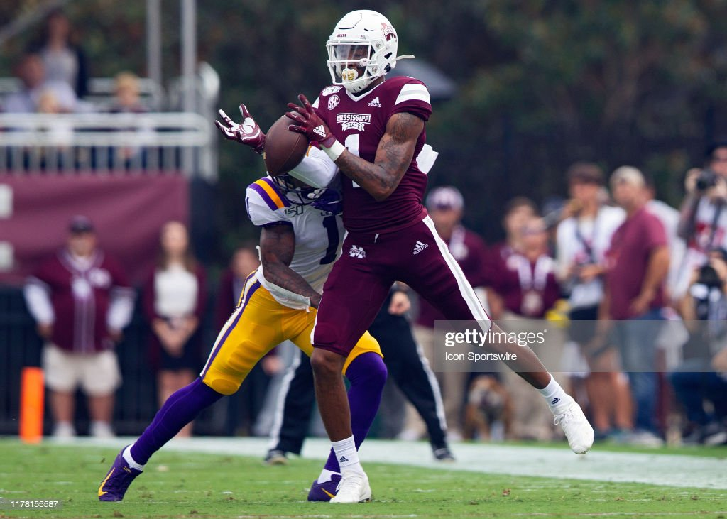 COLLEGE FOOTBALL: OCT 19 LSU at Mississippi State : News Photo