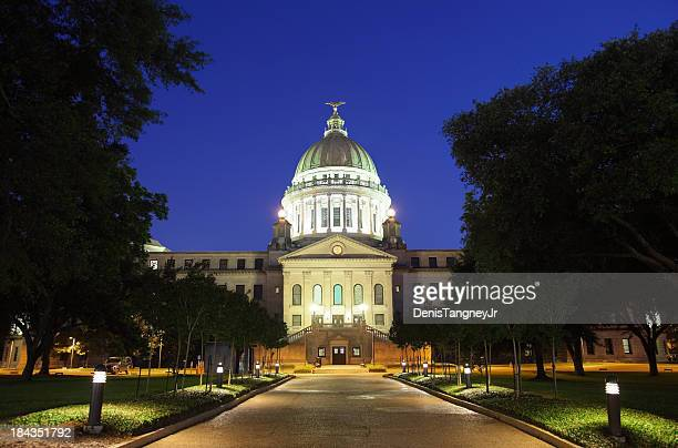 mississippi state capitol - mississippi stock photos and pictures