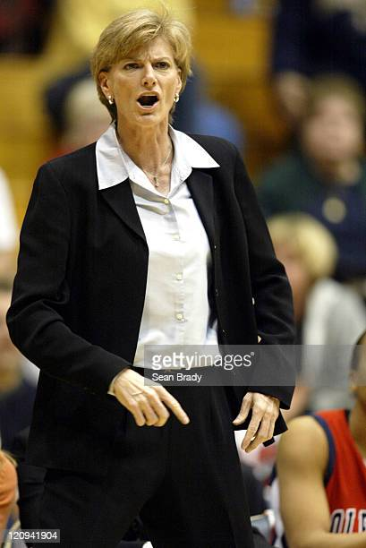 Mississippi's Head Coach Carol Ross during action against Pittsburgh during second round action of the WNIT at the Fitzgerald Field House on March 22...