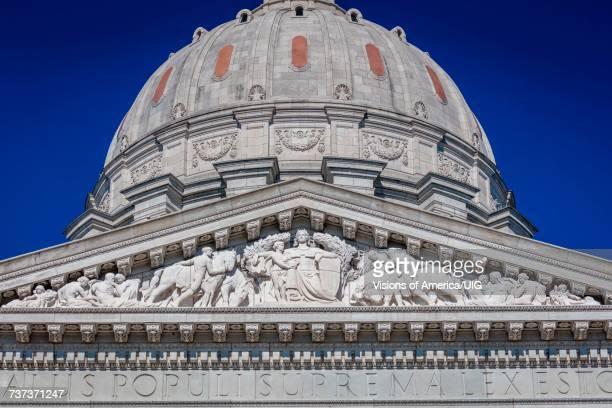 Missouri state capitol building in Jefferson City