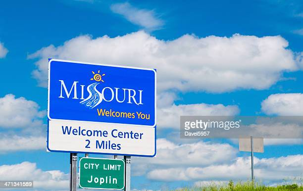 Missouri Welcome Sign