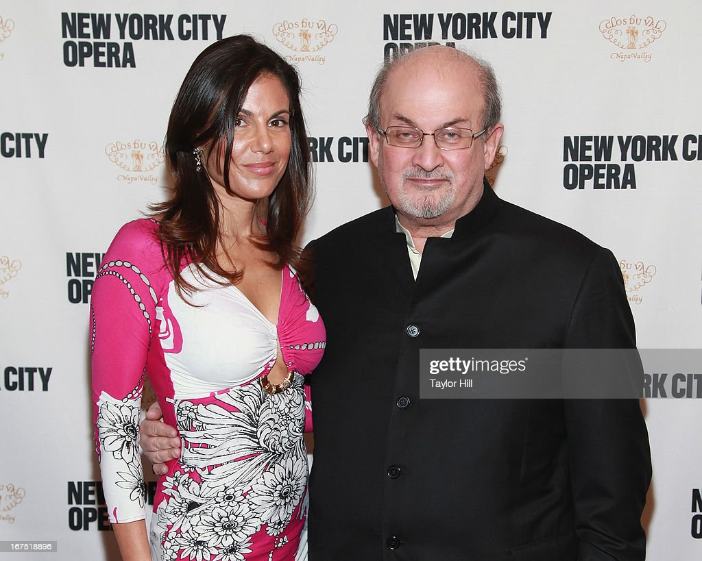 Missy Brody and Salman Rushdie attend the 2013 New York City Opera Spring Gala at New York City Center on April 25, 2013 in New York City.