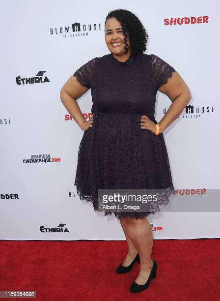 Missy Dawn attends the 6th Annual Etheria Film Showcase held at American Cinematheque's Egyptian Theatre on June 29 2019 in Hollywood California