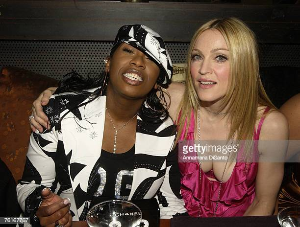 Missy Elliot and Madonna