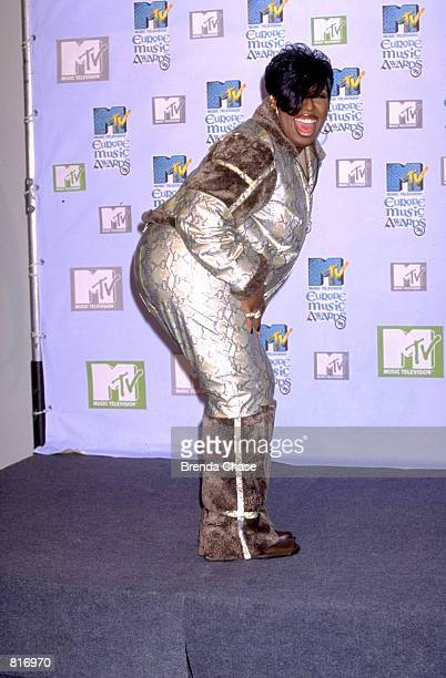 Missy Elliot at the 1999 MTV Europe Music Awards in Dublin November 12 1999