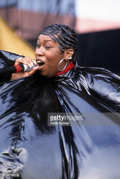Missy Elliot performs at Lilith Fair at Jones Beach New York New York July 16 1998